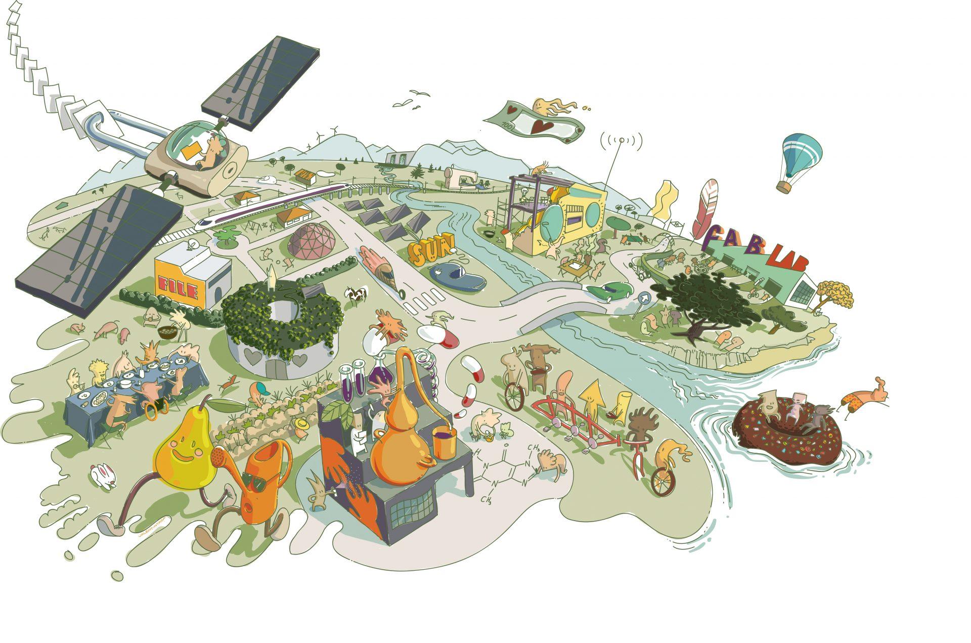 Il·lustració sencera, un ecosistema complet de procomuns