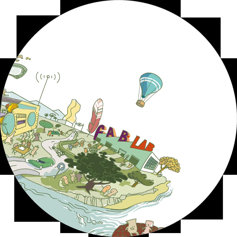Detall per a la capçalera del capítol 4, sobre procomuns urbans