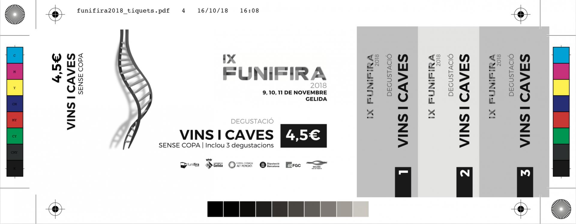 Adaptació del disseny per als tickets de beguda i gastronòmics