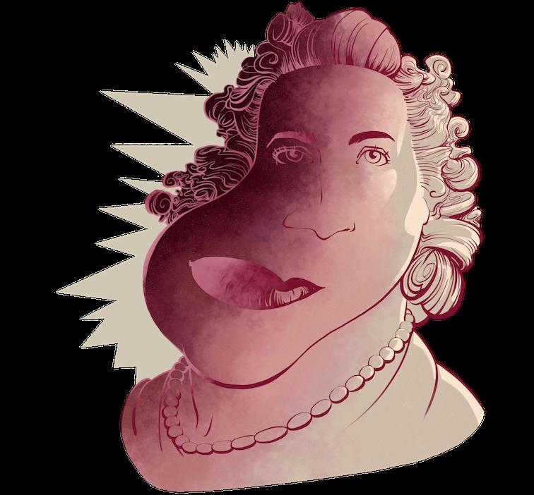 Un altre dels sis personatges que el Rafa Burgos destaca al llibre és la que anomenaren La reina del Pg. de Gràcia