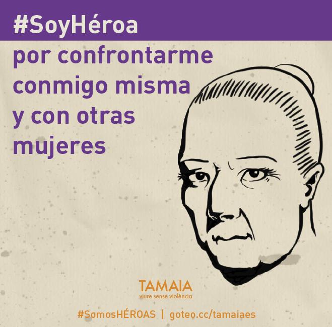 Un dels memes realitzats per a la campanya #SomHeroies, de la cooperativa Tamaia