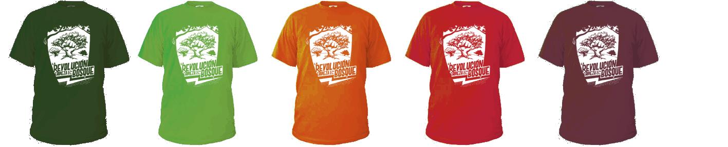 Varem fer un mockup per decidir el color definitiu de la samarreta