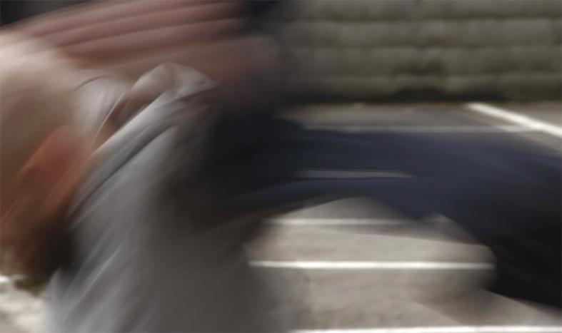 Fotograma de la vídeodansa 'Angelical bel·ligerància', inspirada en la cançó homònima de'n Pau Riba