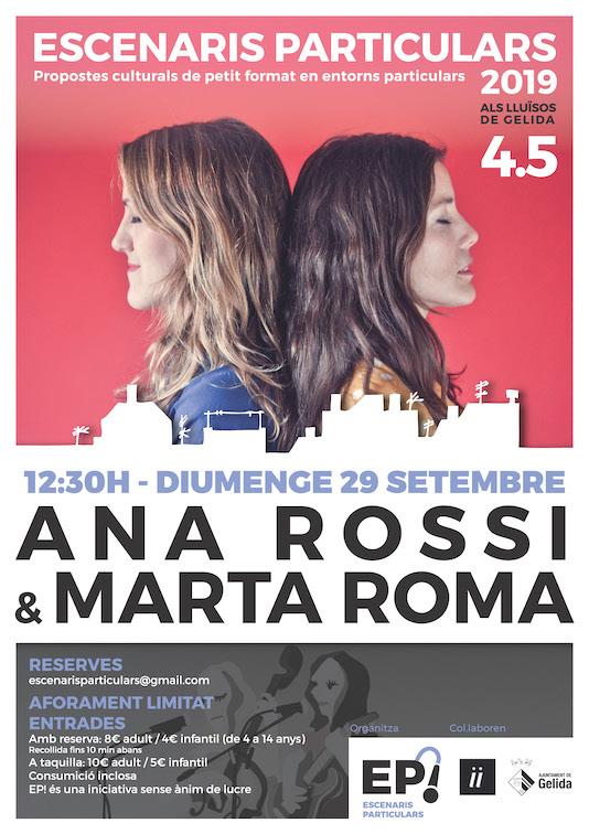 Cartell del concert de setembre de la 4ª temporada