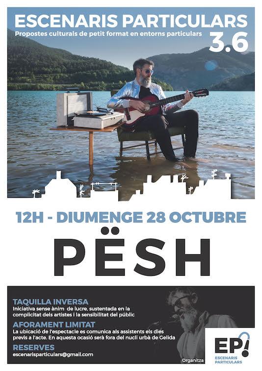 Cartell del concert d'octubre de la 4ª temporada