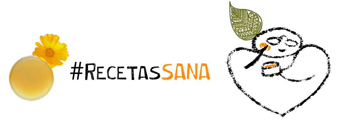Il·lustració de capçalera d'una de les receptes (crema de calèndula) que es compartiren a les xarxes socials de Sana.cat